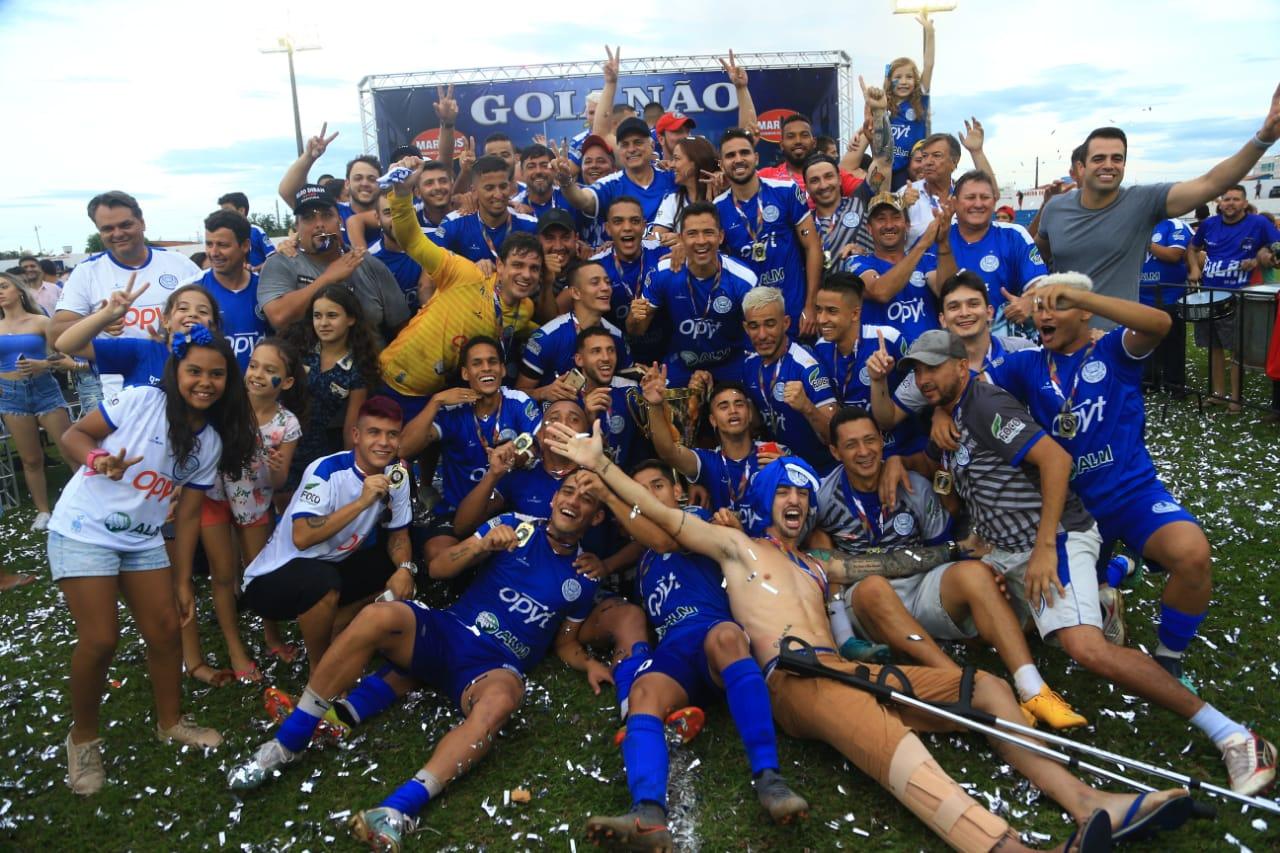 Goiatuba é campeão invicto da Terceira Divisão Goiana
