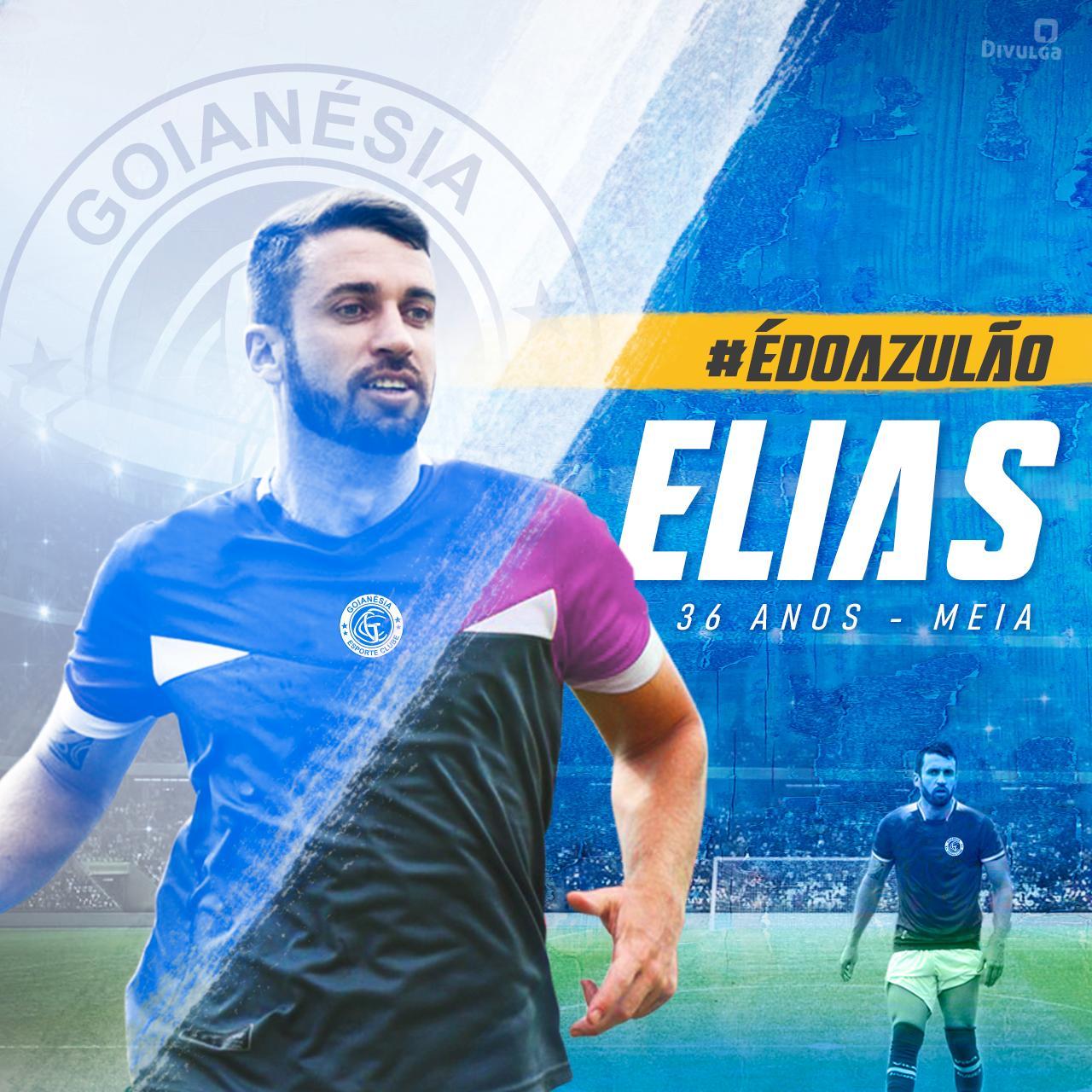 Meia Elias deixa o Vila Nova e acerta com o Goianésia