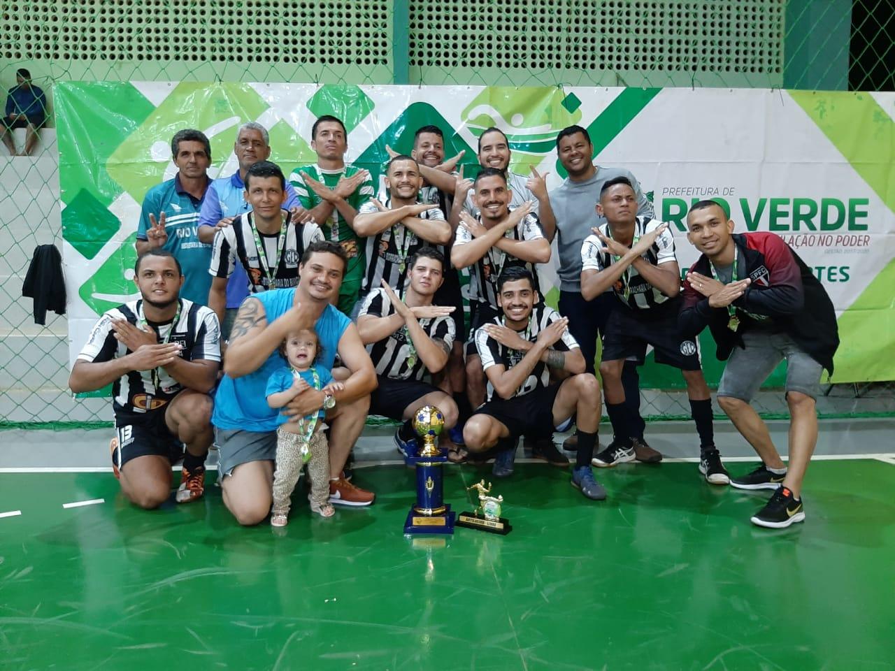Vidromar FC é campeão rio-verdense de futsal masculino