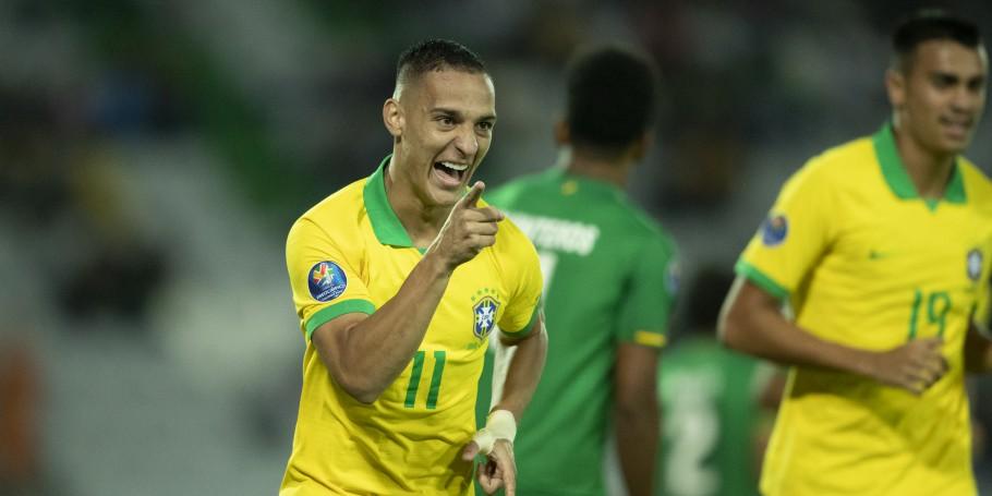 Em duelo de oito gols, Brasil vence a Bolívia e está no quadrangular final do pré-olímpico