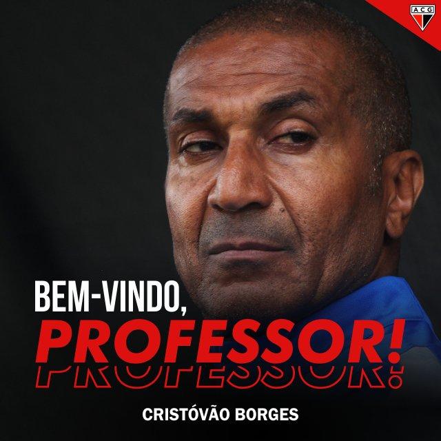 Atlético Goianiense confirma Cristovão Borges como treinador