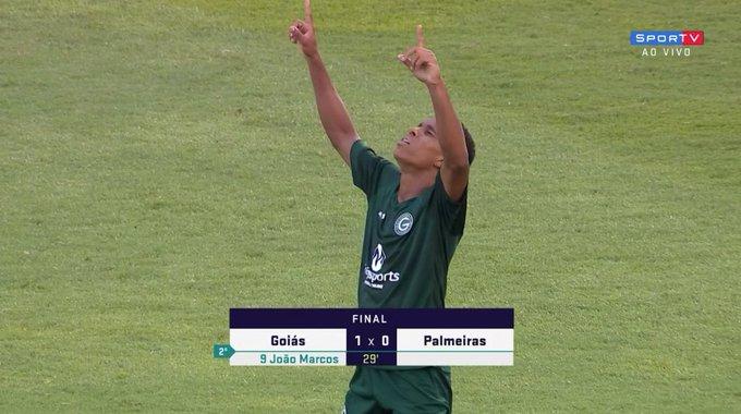 Goiás vence o Palmeiras e esta classificado para as oitavas de final da copinha