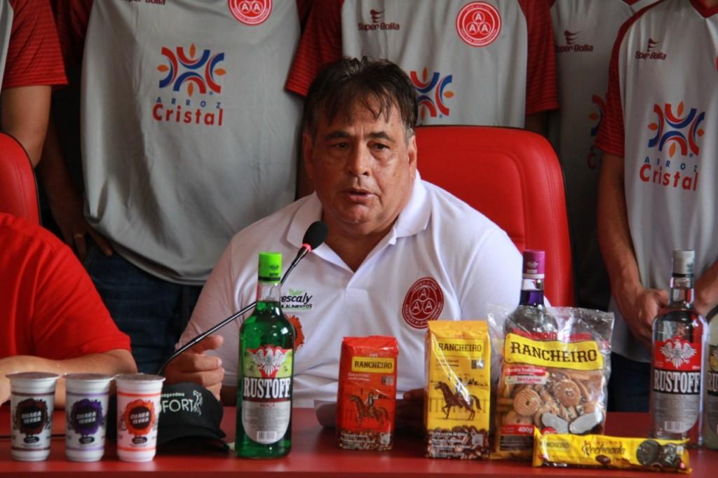 Jair Rabello não é mais o diretor de futebol da Anapolina