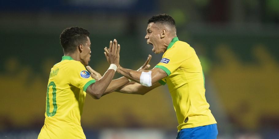 Brasil empata com Uruguai, enquanto a Argentina vence e se garante nas Olimpíadas