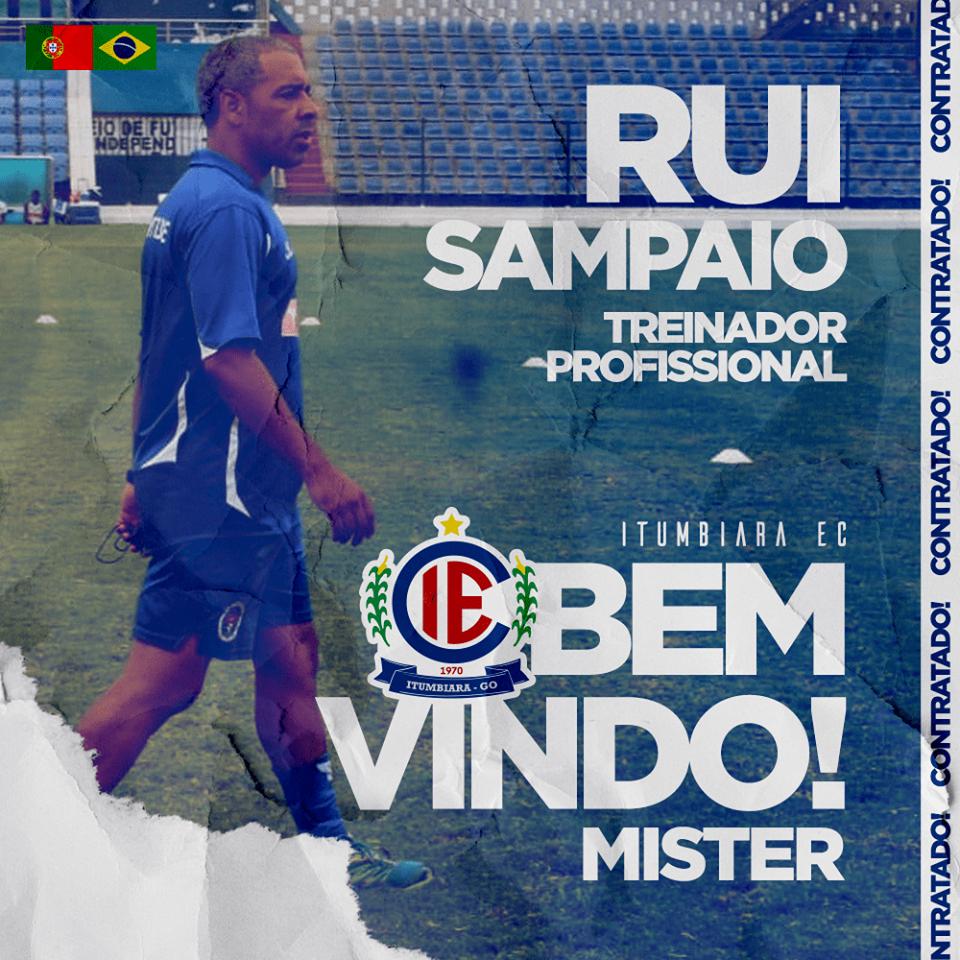 Itumbiara confirma treinador português para a Divisão de Acesso