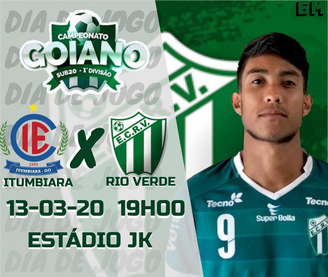 EC Rio Verde estreará hoje no Campeonato Goiano Sub-20 da 1ª Divisão