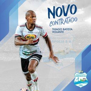 Mesmo com futebol parado, Grêmio Anápolis segue contratando