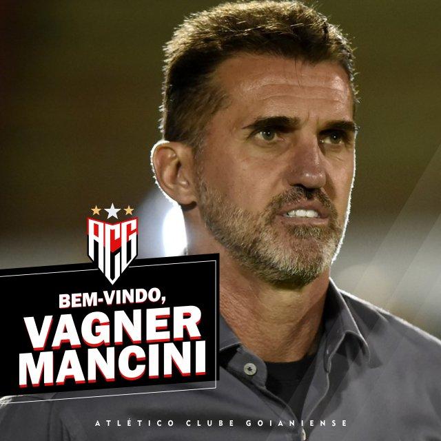 Agora é oficial; Vagner Mancini é o novo técnico do Atlético Goianiense