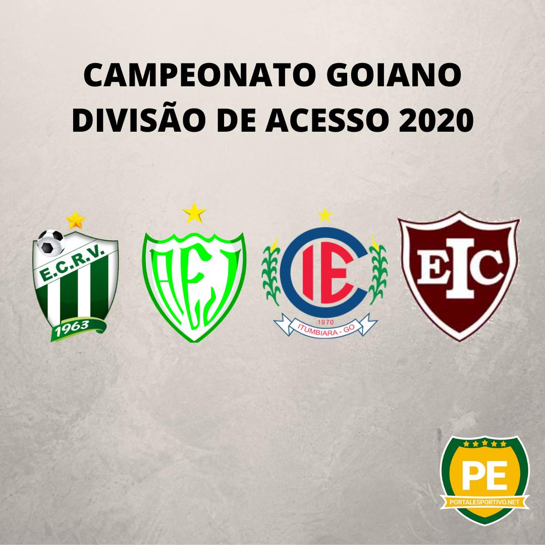 Campeonato Goiano Divisão de Acesso está definido com 4 equipes