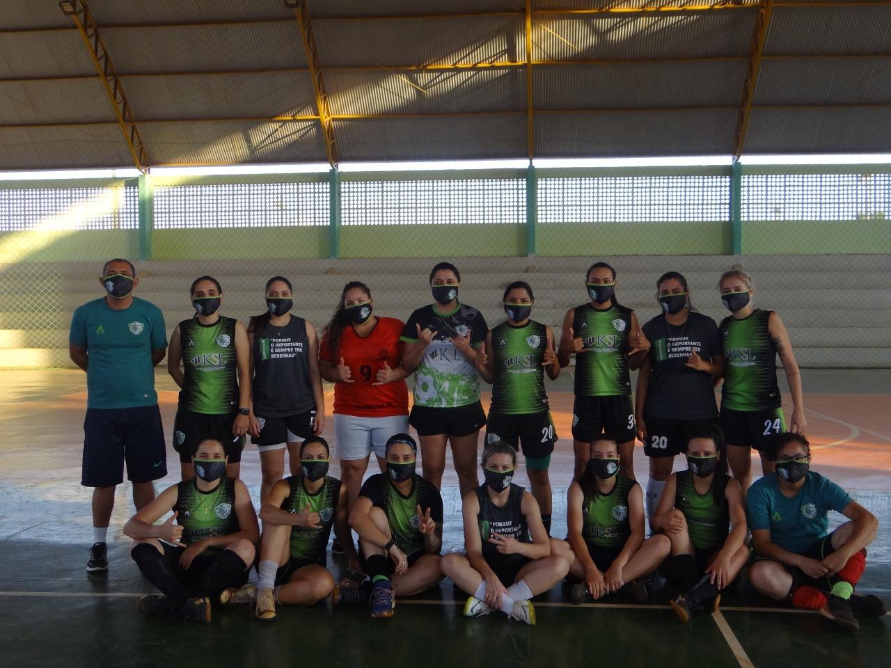 Clube Campestre/Resenhas já está se preparando para o 2º Campeonato Brasileiro de Futsal Feminino