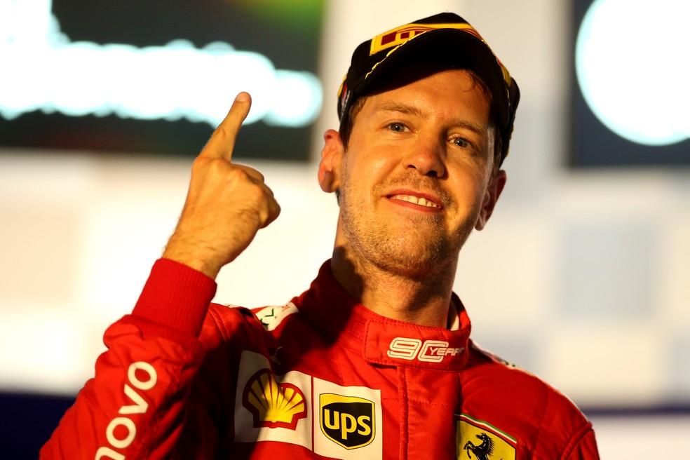 Sebastian Vettel está confirmado na Escuderia Aston Martin