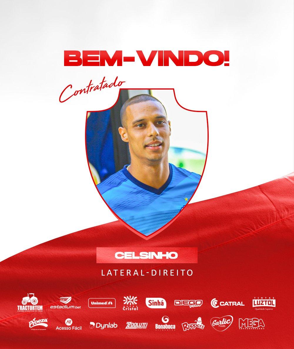 Vila Nova contrata lateral Celsinho para a sequência da Série C