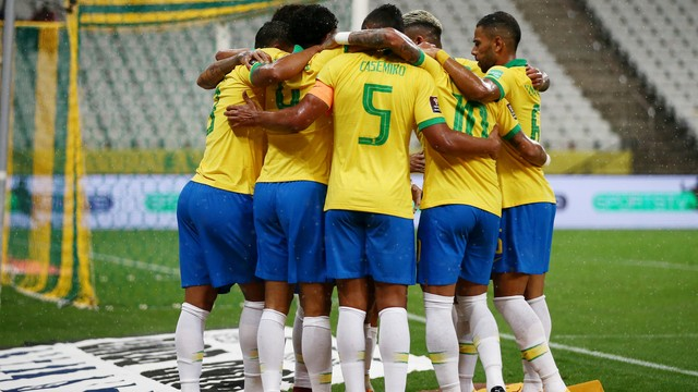 Brasil e Colômbia goleiam nas eliminatórias para a Copa de 2022