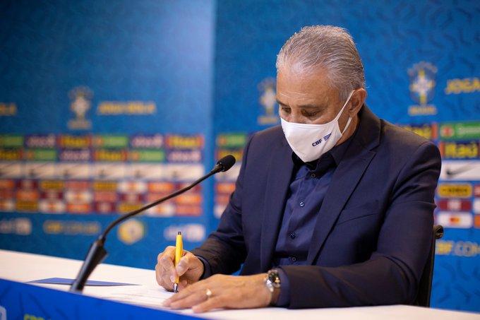 Brasil está  convocados para os 2 jogos das eliminatórias em novembro
