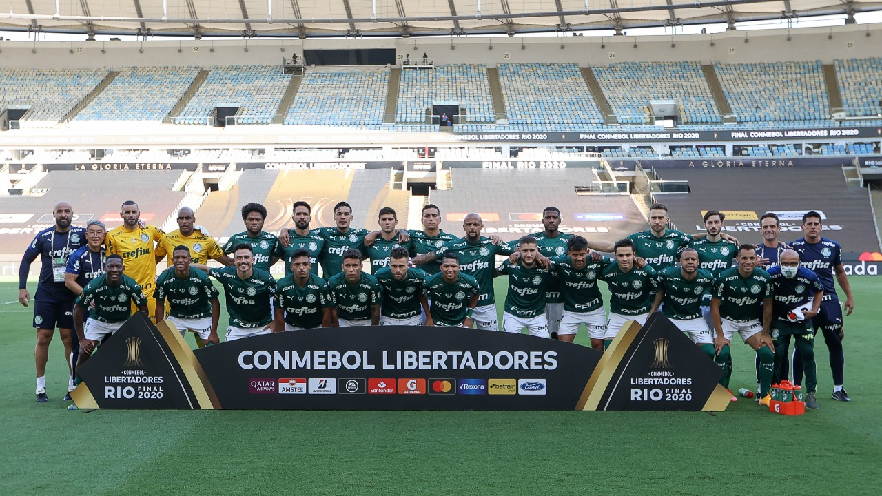 Palmeiras vence o Santos e conquista a Libertadores da América