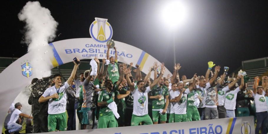 Chapecoense ganha a Série B e o Juventude fica com a última vaga na elite