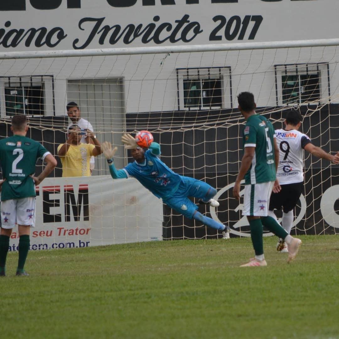 Goleiro Dida seguirá na Jataiense para o Campeonato Goiano