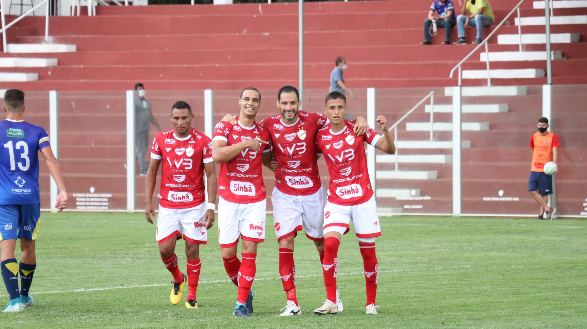 Vila Nova vence o Palmas e se classifica para as quartas de final da Copa Verde