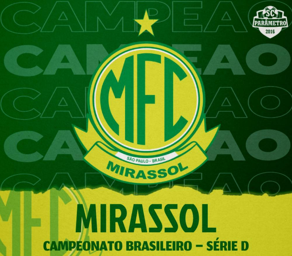 Mirassol é campeão brasileiro da Série D
