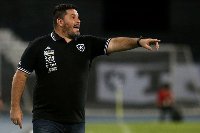 Barroca não é  mais o treinador do Botafogo