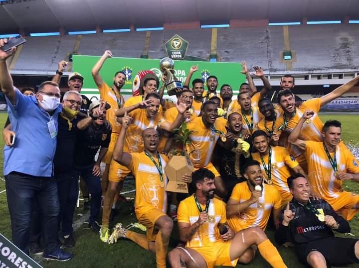 Brasiliense é  campeão da Copa Verde