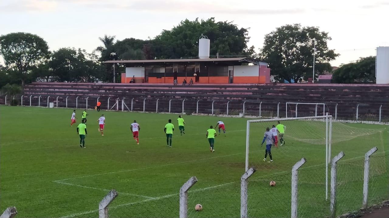 Jataiense empata jogo treino contra equipe amadora