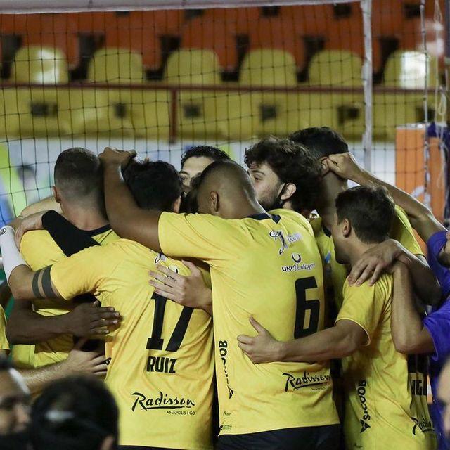 Anápolis Vôlei vence a quarta partida na Superliga B