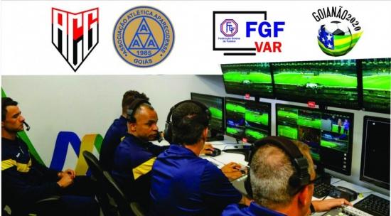 VAR será utilizado em uma partida da semifinal do Campeonato Goiano 2020