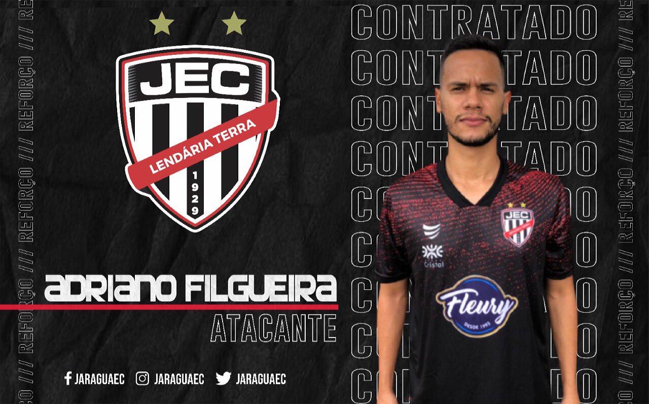 Jaraguá contrata o atacante Adriano Filgueira