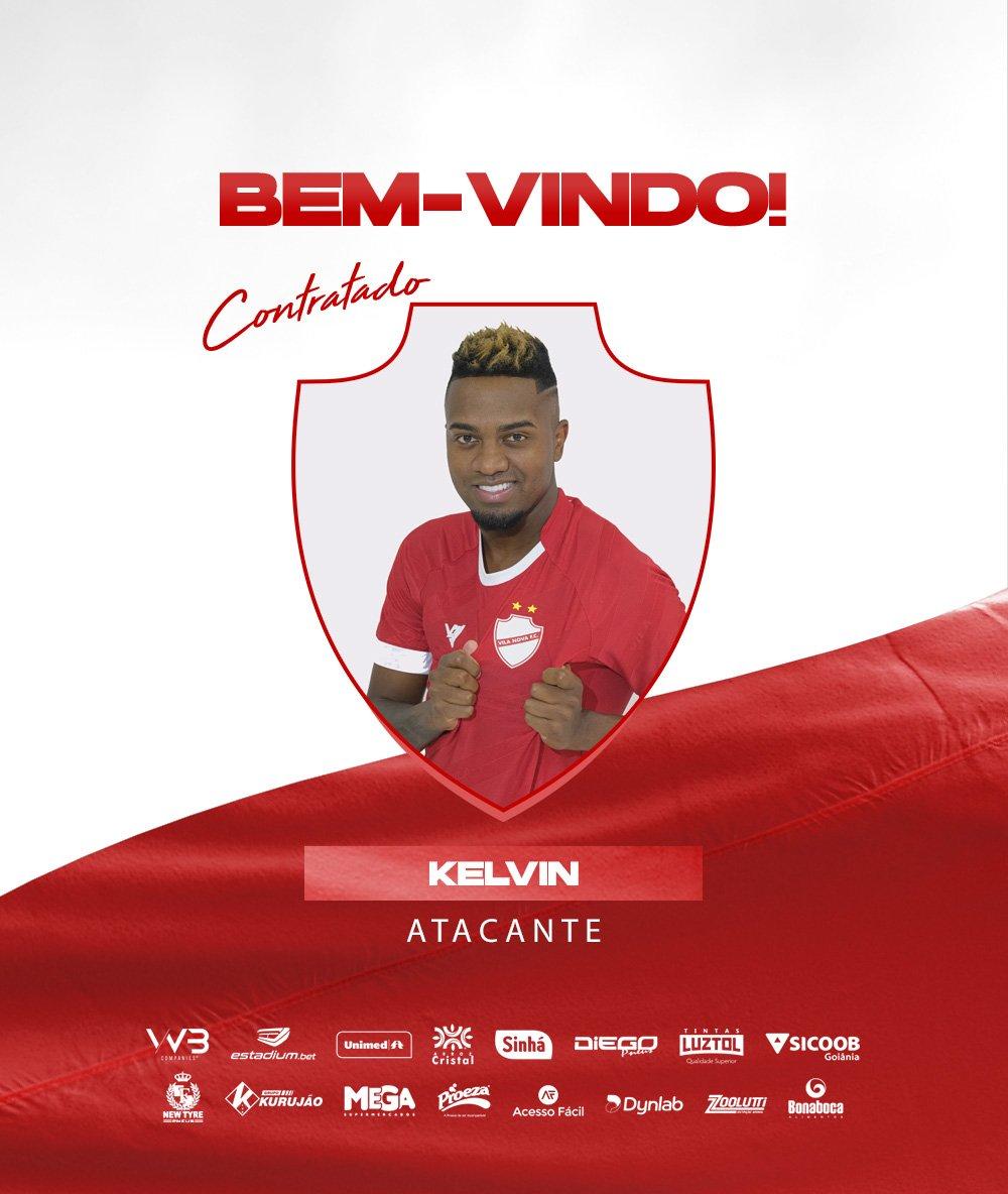 Kelvin ex- Botafogo e São Paulo é  o novo reforço do Vila Nova