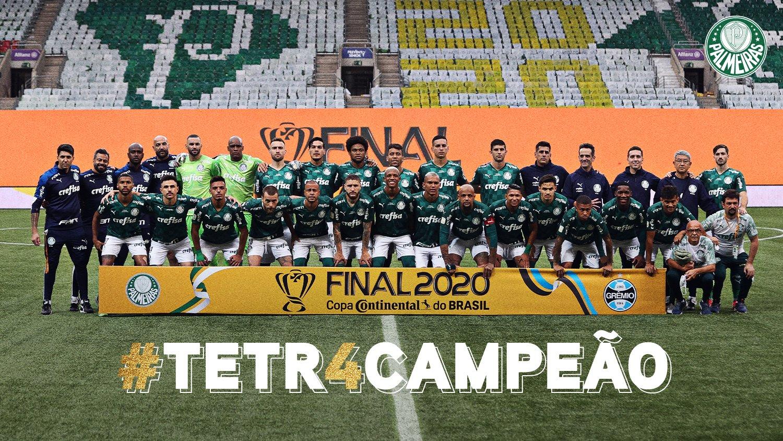 Palmeiras bate o Grêmio e conquista a Copa do Brasil