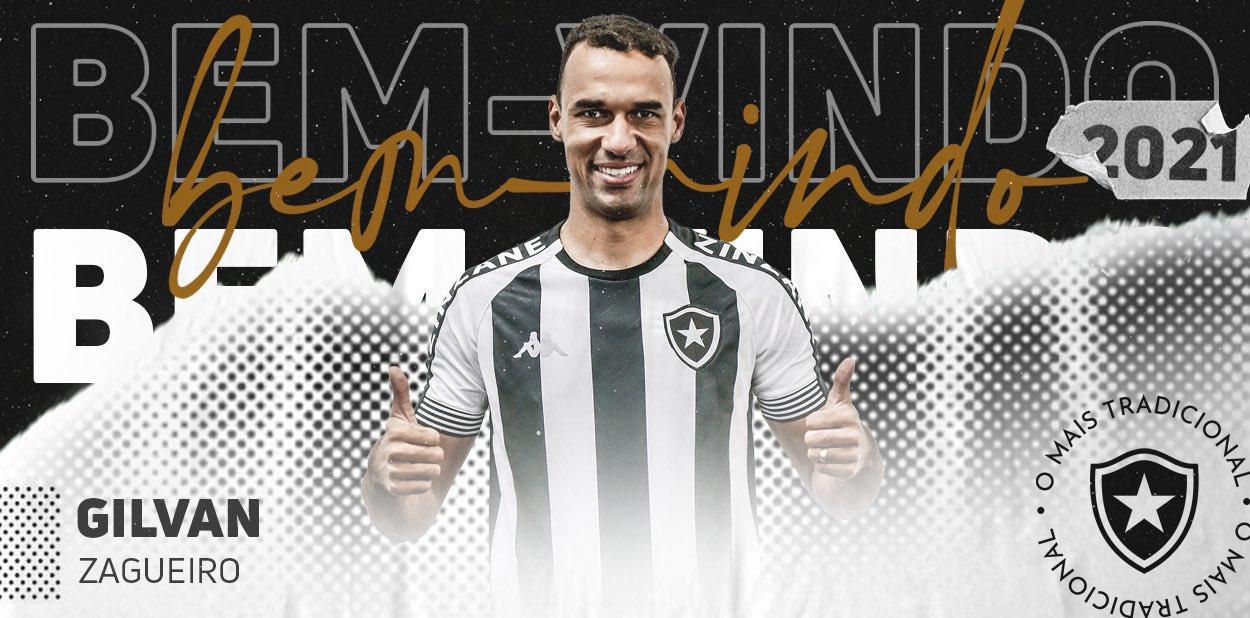 Botafogo contrata zagueiro do Atlético Goianiense