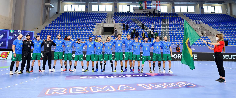 Seleção Brasileira de Handebol masculino garante vaga nas Olimpíadas