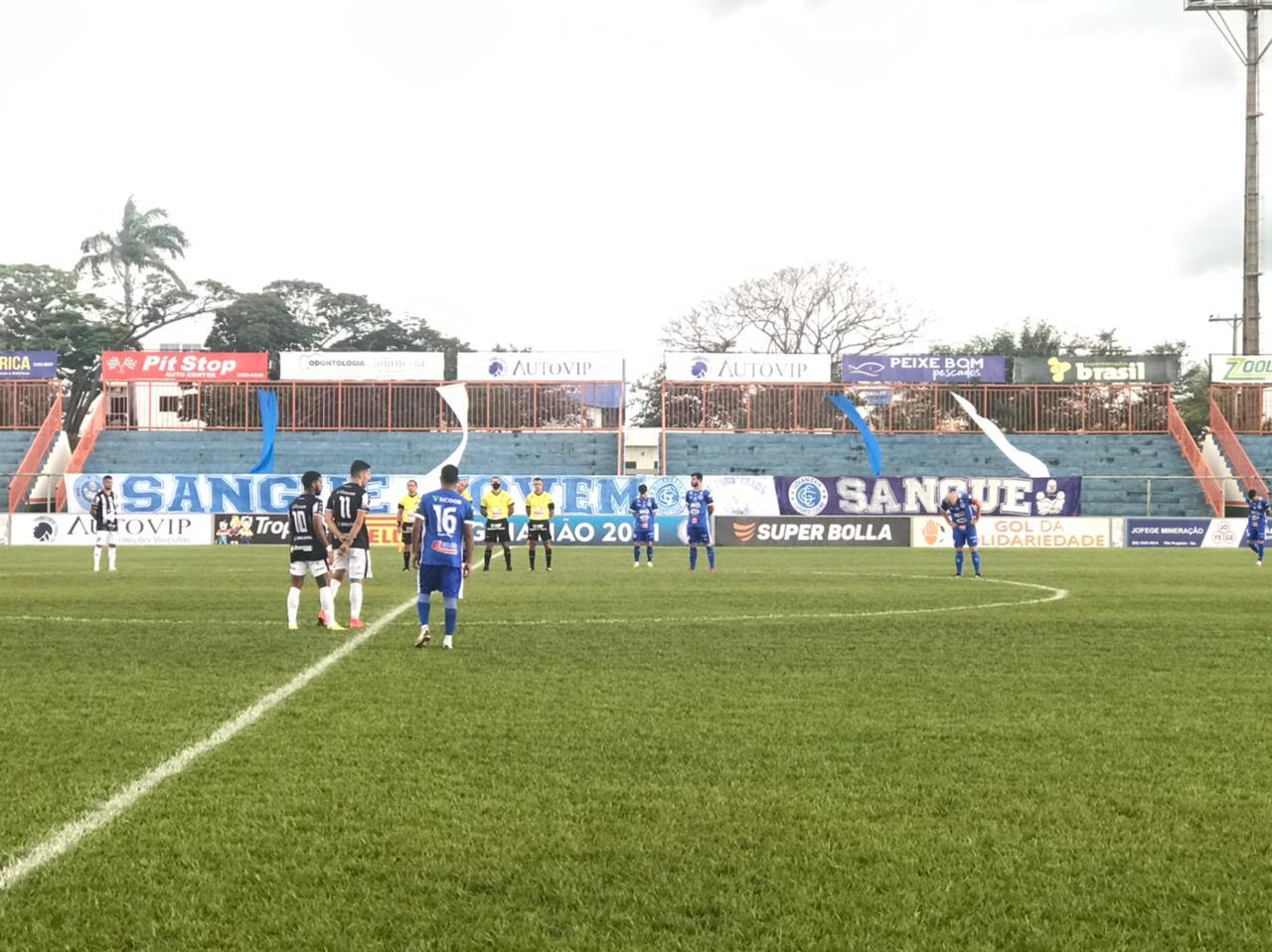 Goianésia e Jaraguá empatam pelo Goianão 2021