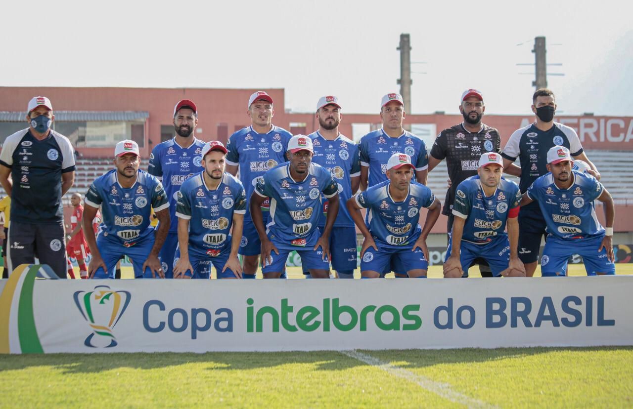 Goianésia perde para o CRB e está fora da Copa do Brasil
