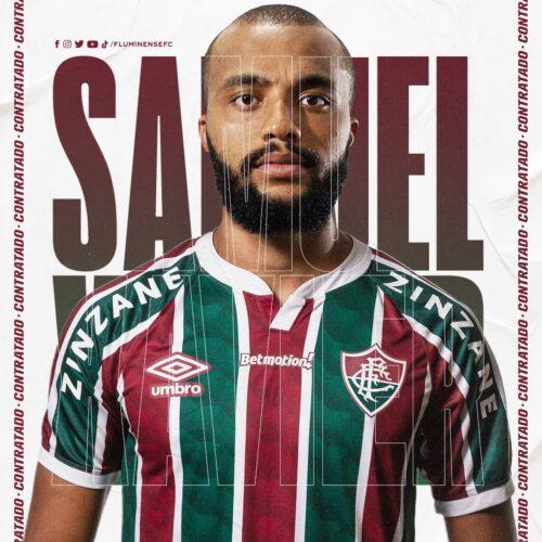 Fluminense oficializa três contratações