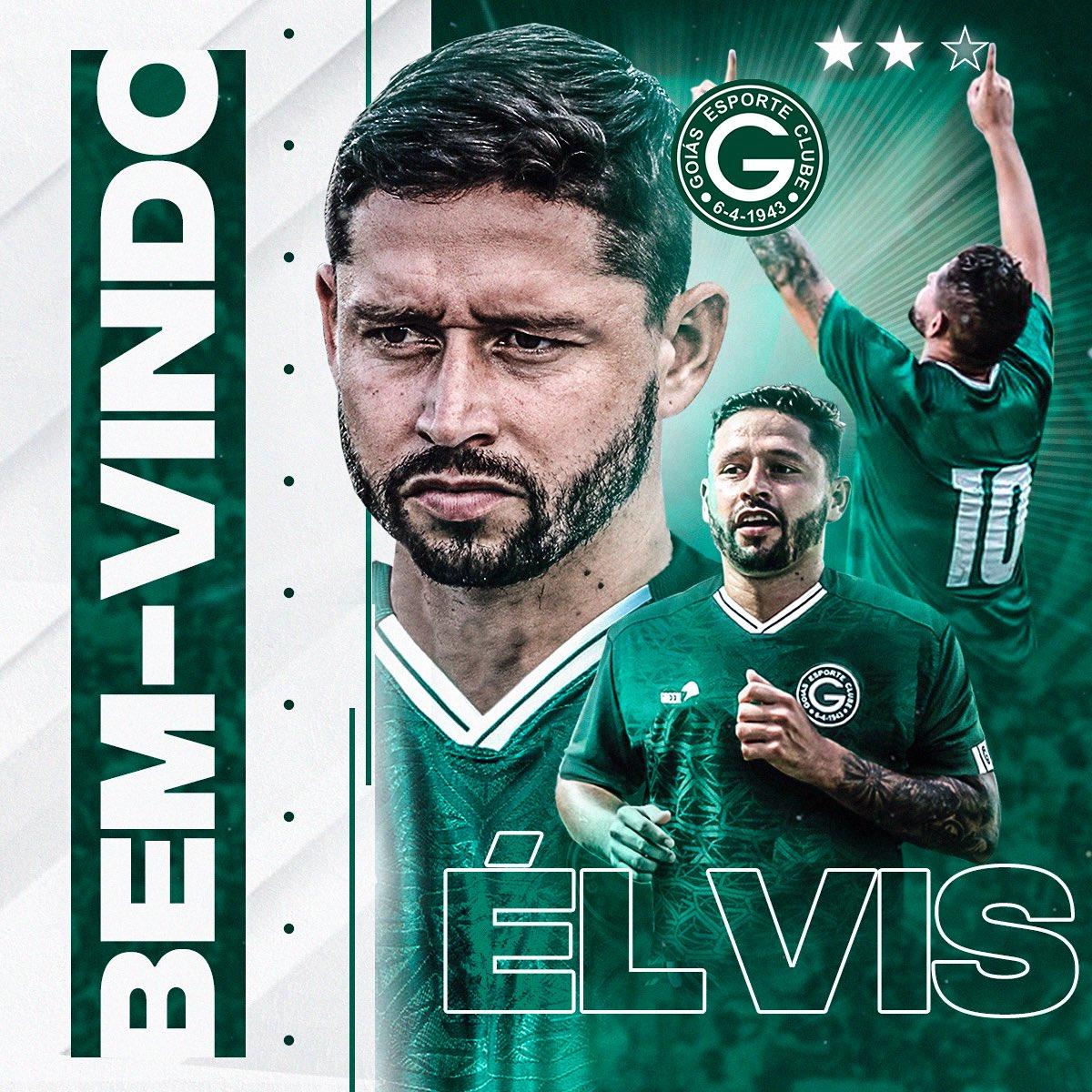 Goiás oficializa a chegada do meia Elvis