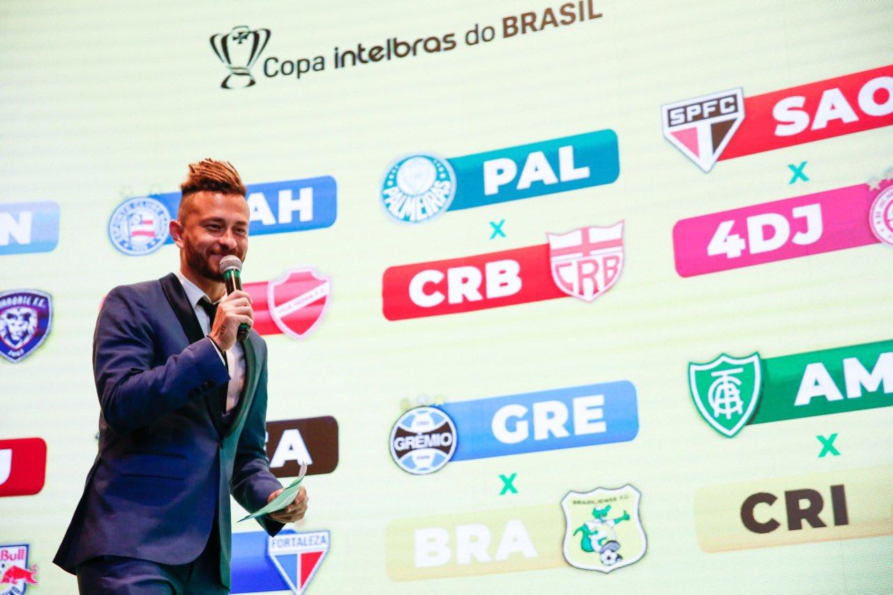 Confira os duelos da terceira fase da Copa do Brasil