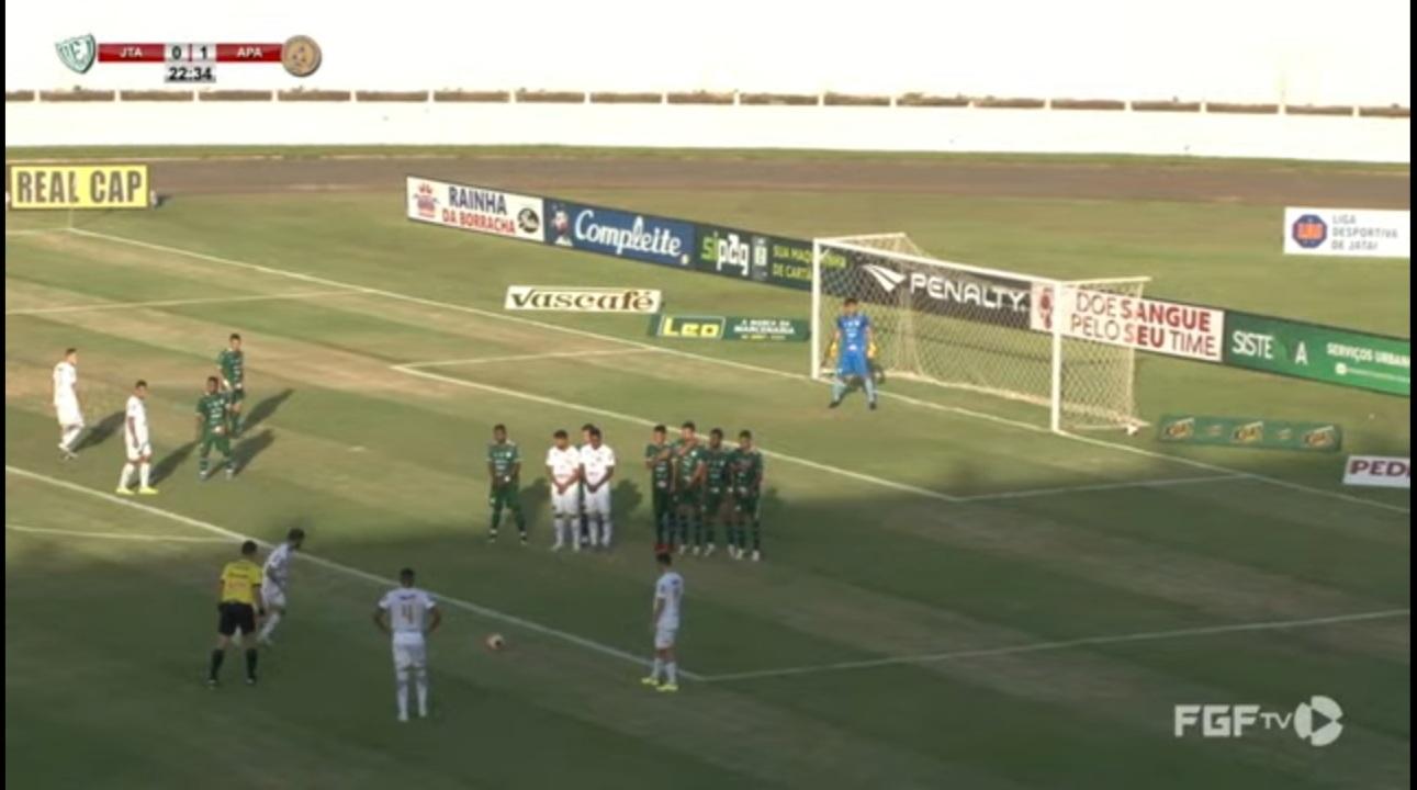 Aparecidense goleia a Jataiense no jogo de ida das quartas de final do Campeonato Goiano