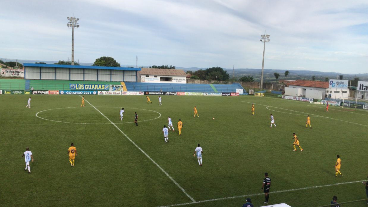 Iporá e Grêmio Anápolis empatam no jogo de ida das quartas de final