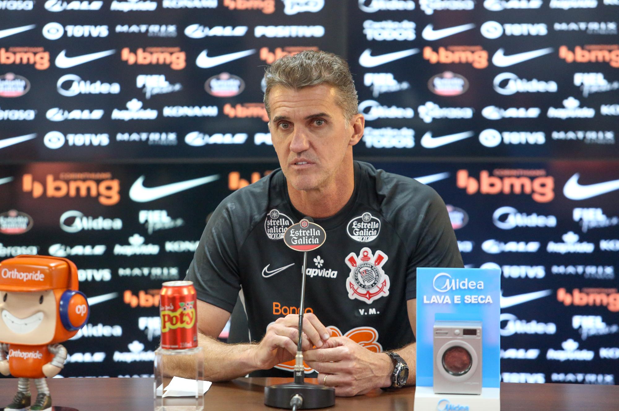 Vagner Mancini não é mais o treinador do Corinthians
