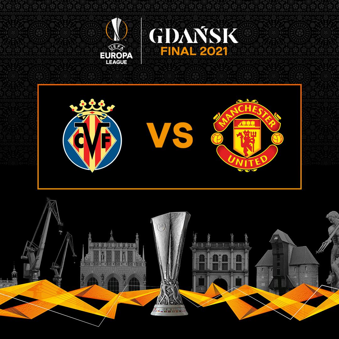 Manchester United e Villarreal estão na final da Liga Europa