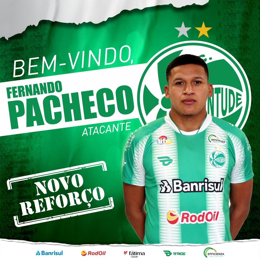 Juventude acerta com atacante no Fluminense
