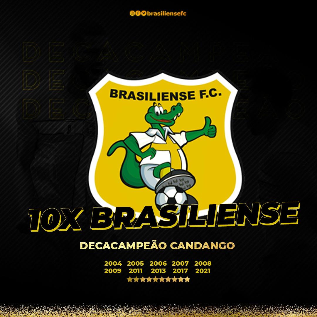 Brasiliense conquista pela décima vez o Campeonato do Distrito Federal