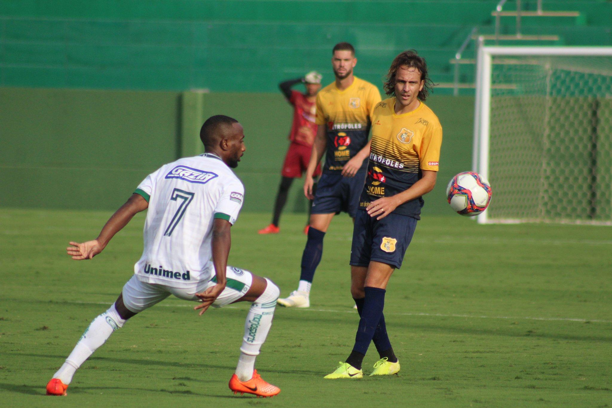 Goiás venceu o Brasiliense em partida amistosa