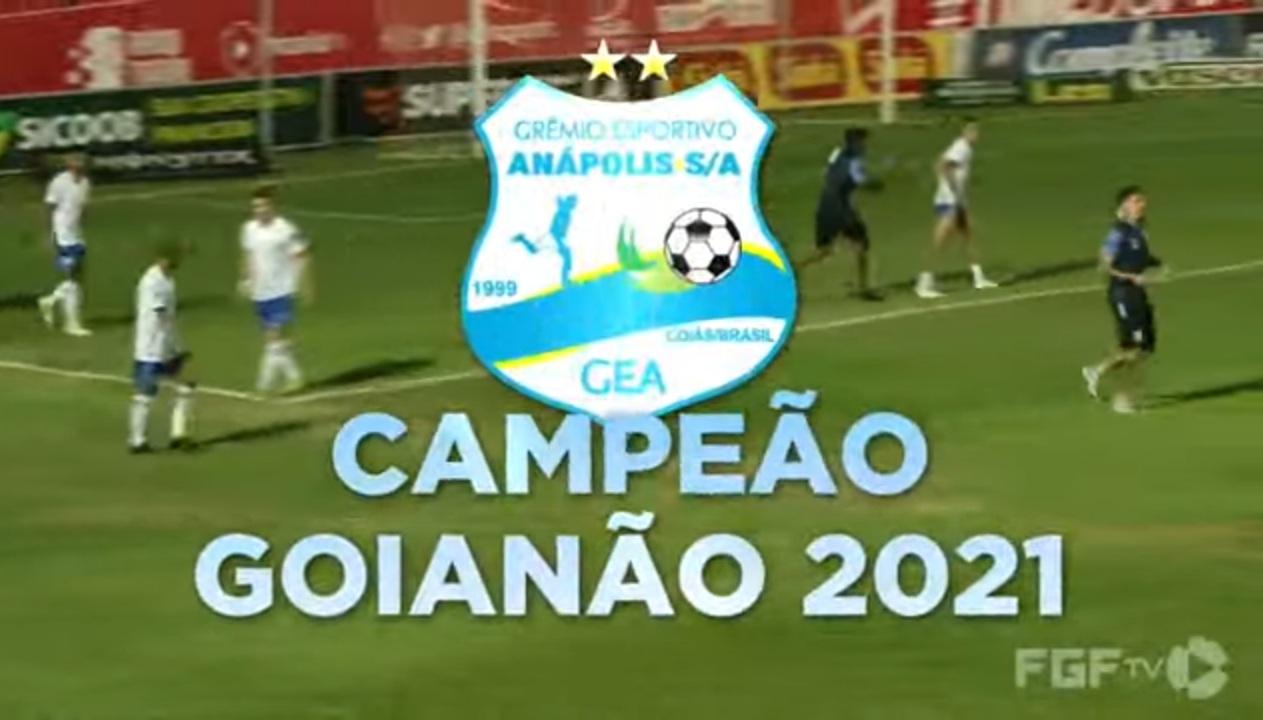 Grêmio Anápolis conquista pela primeira vez o Campeonato Goiano