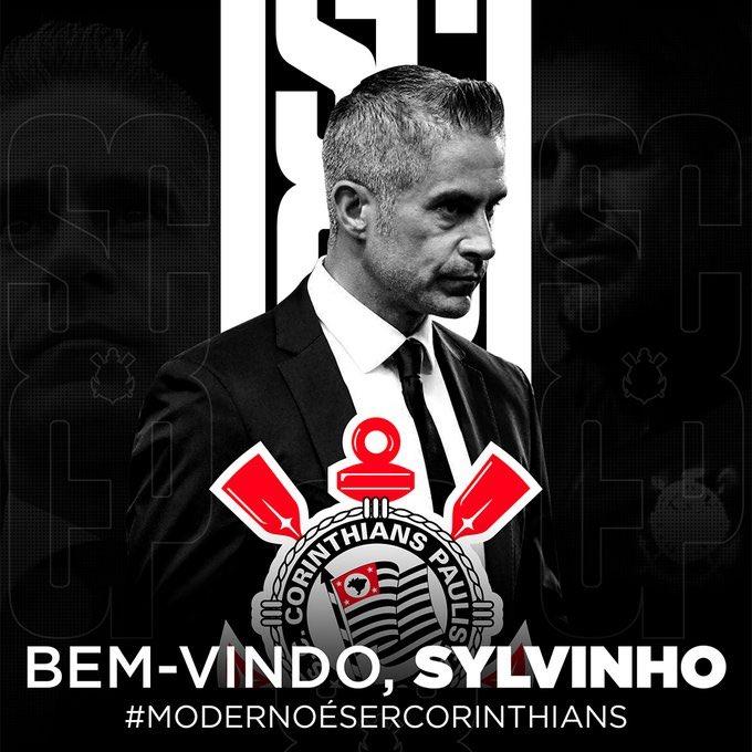 Corinthians confirma Sylvinho como treinador