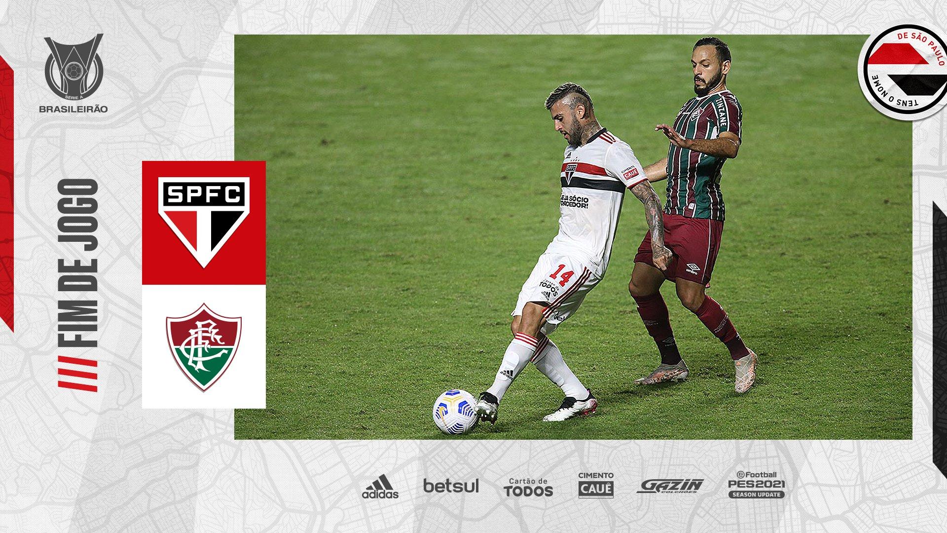 São Paulo e Fluminense ficam no empate na Série A