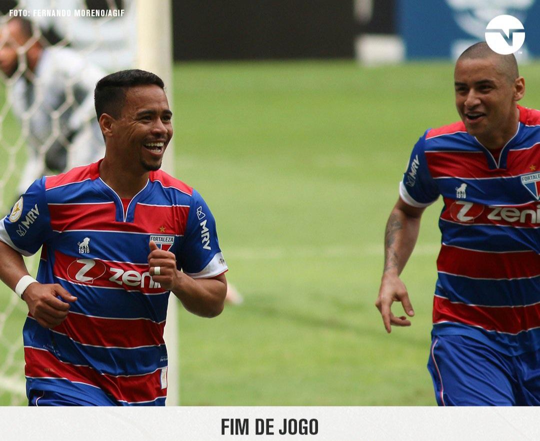 Fortaleza vence o Atlético Mineiro de virada