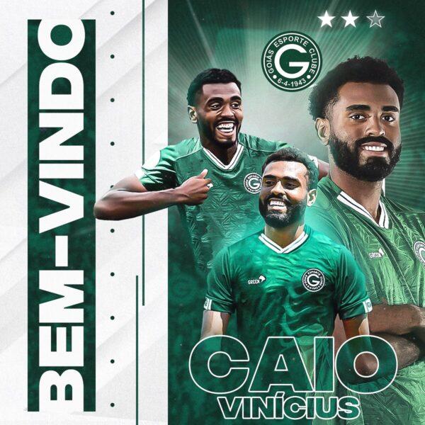 Goiás oficializa chegada do volante Caio Vinicius